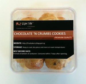 Chocolate 'n Crumbs Cookies