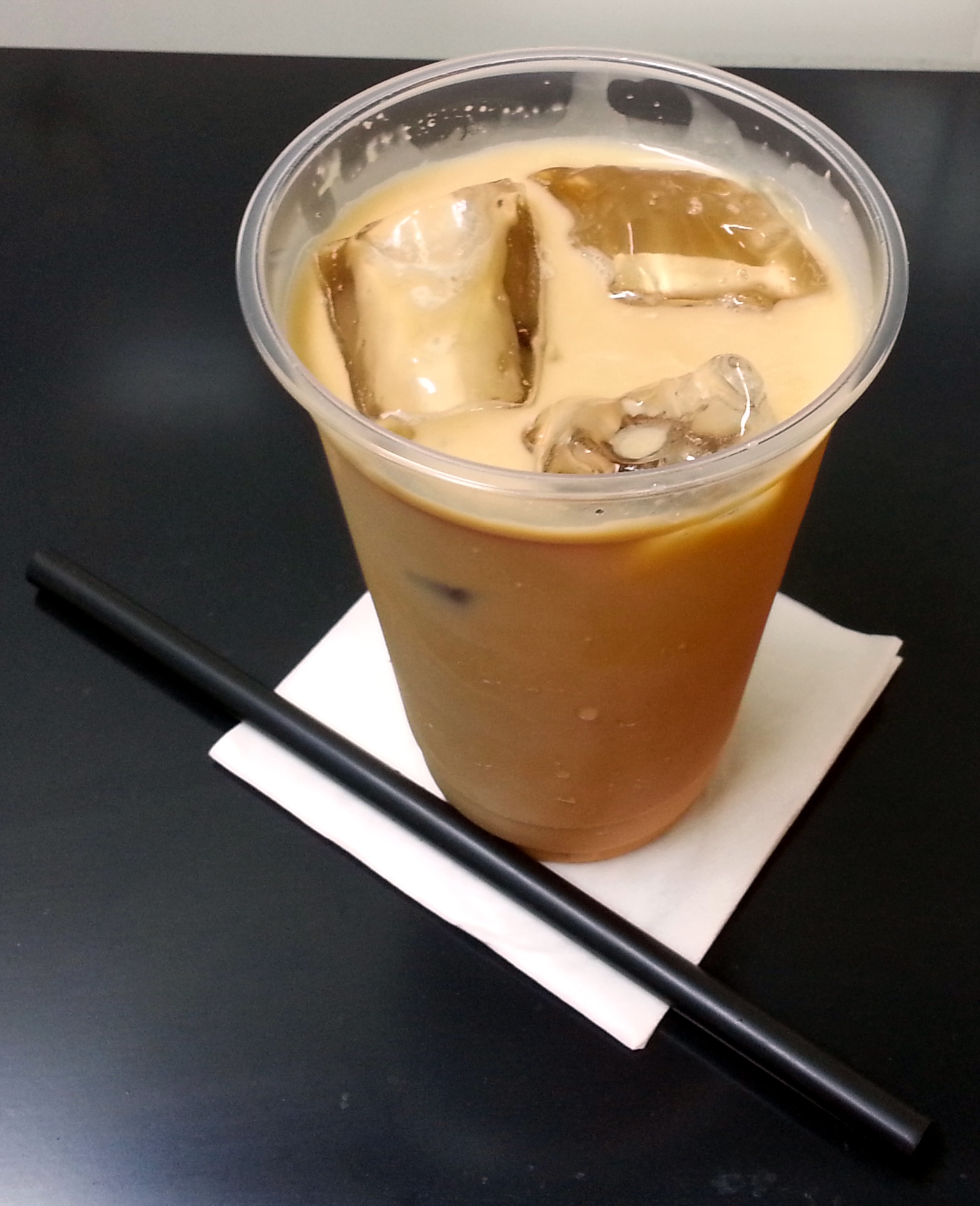 how to make milk ice tea