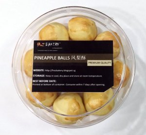 Pineapple Balls 18 pcs