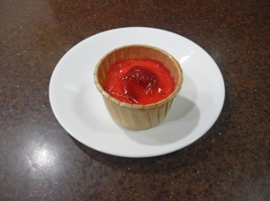 Strawberry Miniature Cheesecake